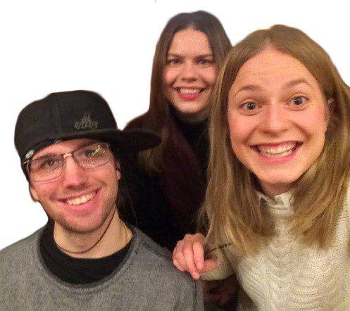 Sanni, Mikael, Johanna